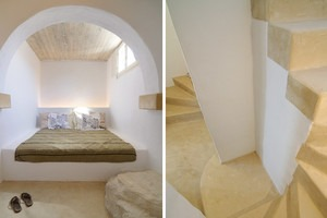 Keros 1 - Basement Bedroom no 2, Staircase from Ground Floor to Basement