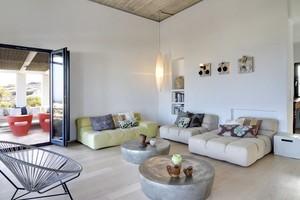 Villa Parathira_living room