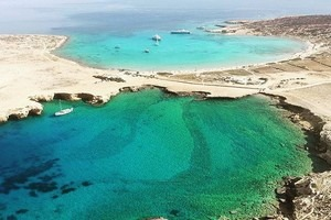 Pori Bay - Xylobatis Sea Caves and Sandy Beach