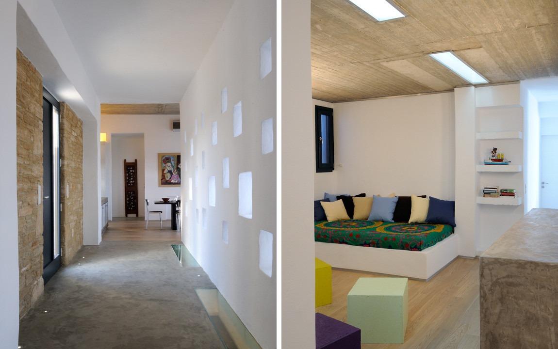 Villa Parathira_Entrance Hall, Basement Playroom